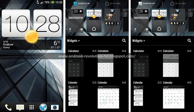 HTC Sense 5.5 (bron: Android Revolution HD)