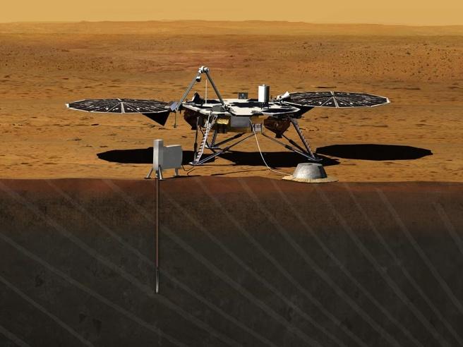 De InSight-Marsrover