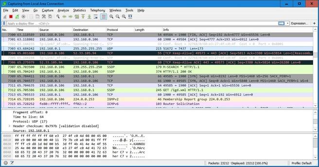 Wireshark 2.0