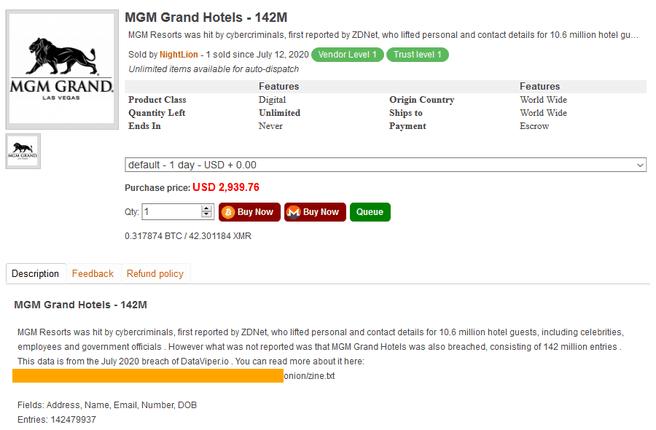 MGM-accounts