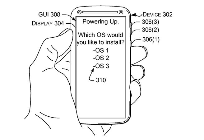 Microsoft Multi-OS-patent