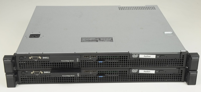 Dell R210-vooraanzicht