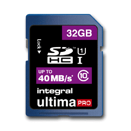 Integral UltimaPro 32GB SDHC card - class 10