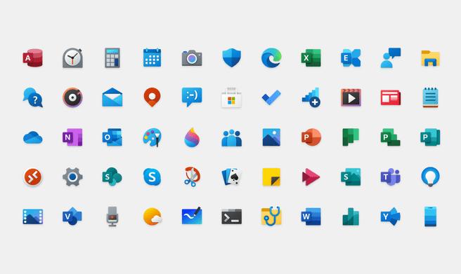 Icoontjes Windows 10 2020