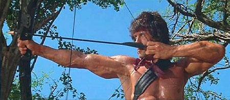 Reef mikt hoog met Rambo-game