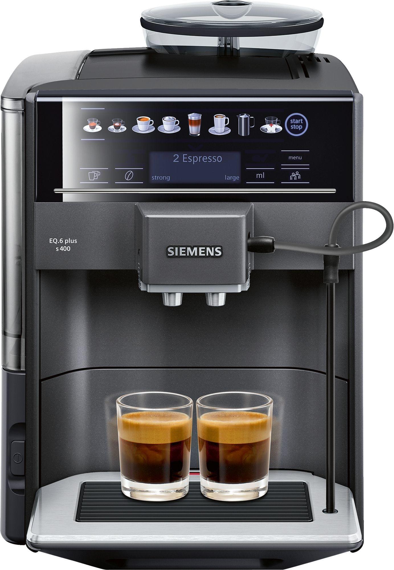 siemens eq 6 plus s400 espresso volautomaat te654319rw prijzen tweakers. Black Bedroom Furniture Sets. Home Design Ideas