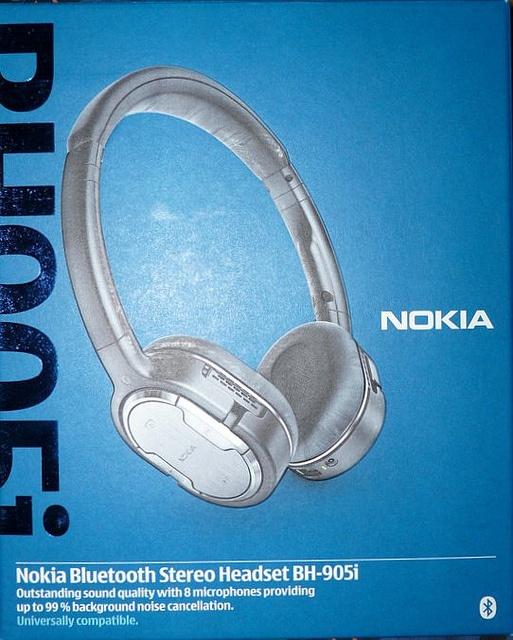 Nokia BH-905i bluetooth stereo hoofdtelefoon