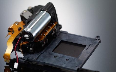 Canon EOS 60D sluitergordijn
