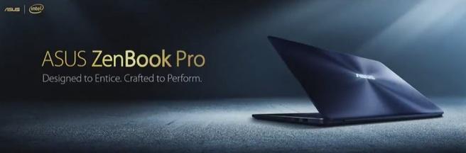 Asus Zenbook Pro 2017