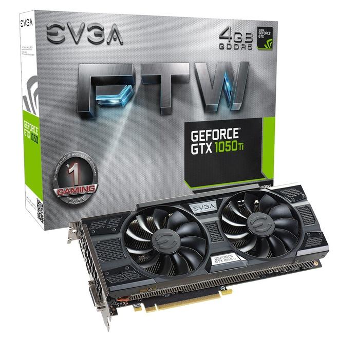 EVGA GTX 1050 Ti FTW