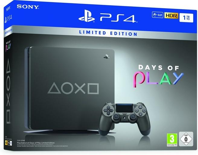 Sony PlayStation 4 Slim 1TB (Days of Play Special Edition) Zwart