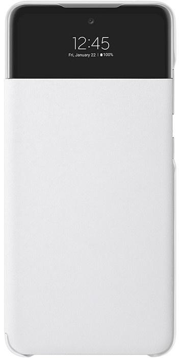 Samsung Galaxy Galaxy A52 S-View Wallet Case Origineel EF-EA525PW - Wit  Wit