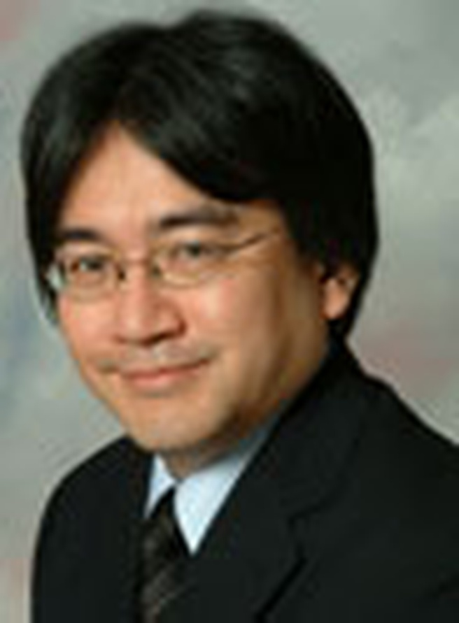 Satoru Iwata, directeur van Nintendo