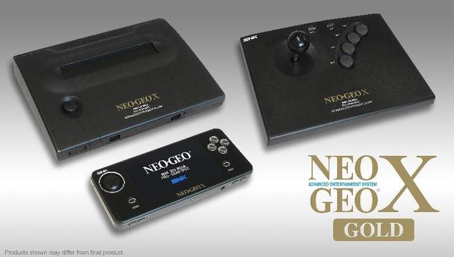 NeoGeo X met accessoires