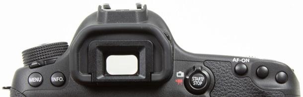 Canon EOS 6D zoeker