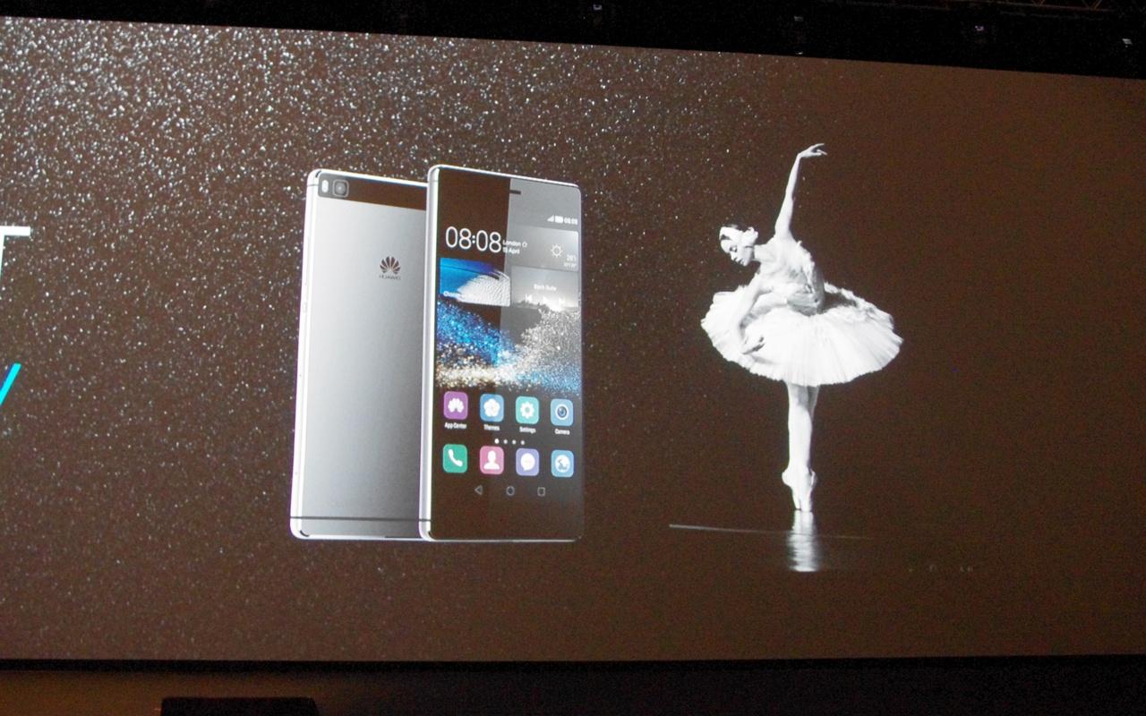 Huawei P8-presentatie (beeld: Anandtech)