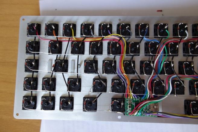 Custom wired keyboard