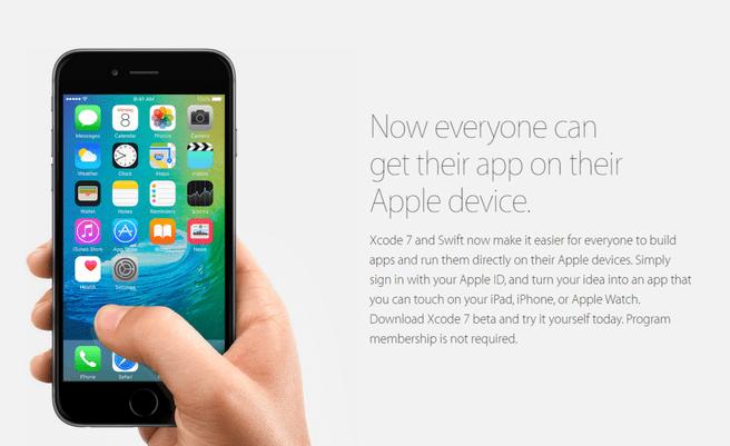 Apple sideload