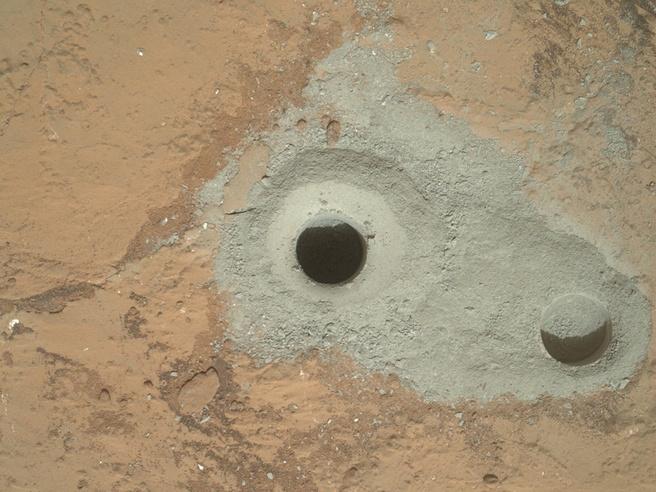 Boorgat op Mars