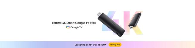 Tongkat Google TV Realme