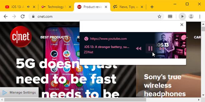 6bbaffb8c00da5 Google test een 'play'-knop voor video in de Chrome-browser ...