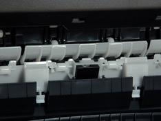 Loopwielen tranportmechanisme detail