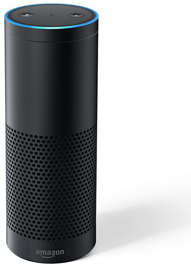 amazon echo plus zwart kenmerken tweakers. Black Bedroom Furniture Sets. Home Design Ideas