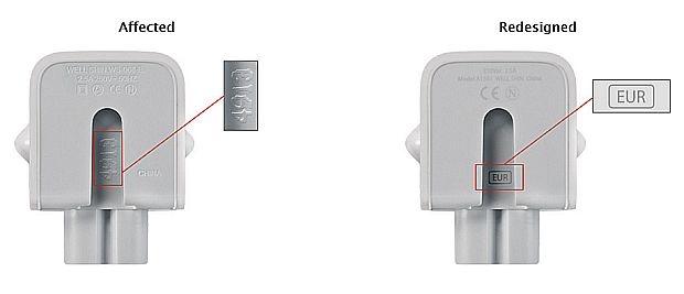 Apple terugroepactie adapter