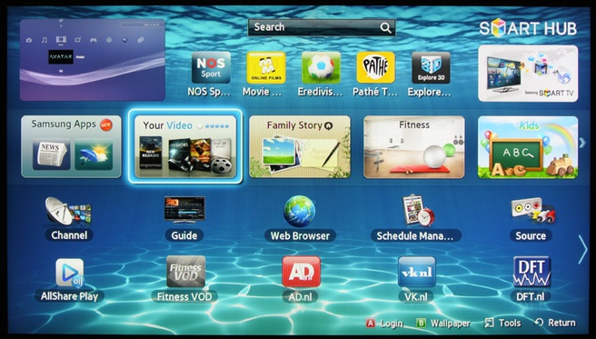 Samsung ES6800 smart tv