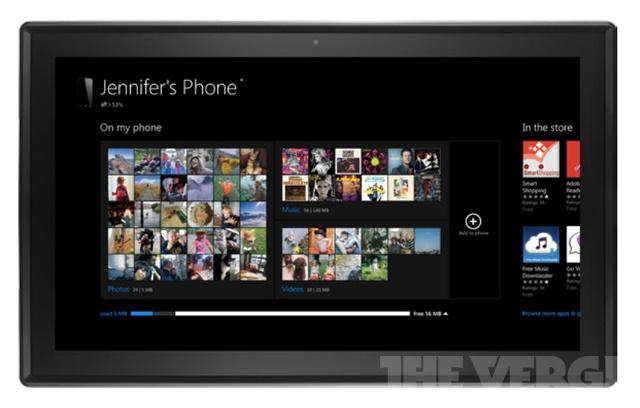 Windows Phone 8 Companion-app op Windows 8