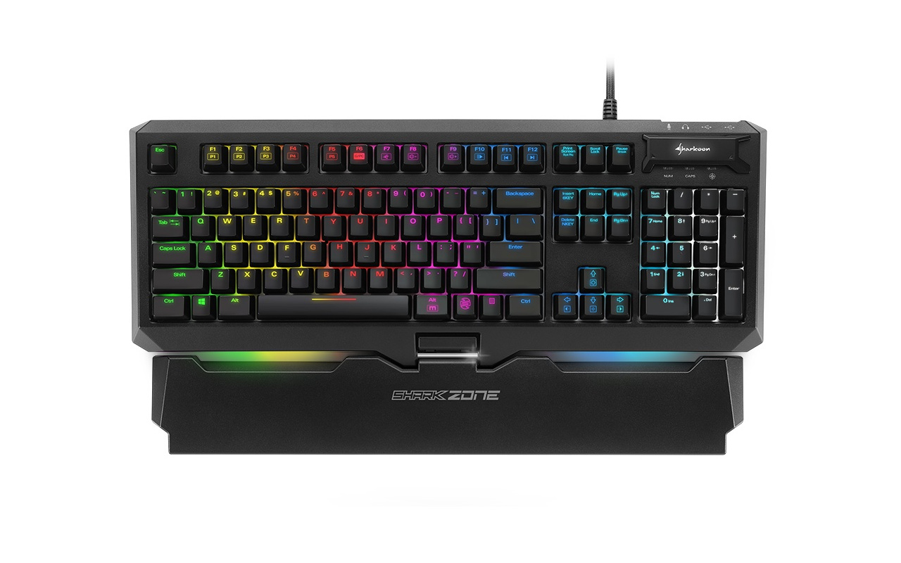 Sharkoon Shark Zone MK80 RGB Mechanical Gaming Keyboard (Red)