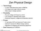 AMD Ryzen ISSCC PC Watch