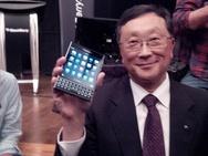 BlackBerry-directeur John Chen met Passport