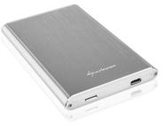 "Sharkoon Rapid-Case 2.5"" USB 3.1 Type C Zilver"
