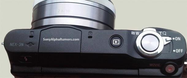 Sony NEX-3N afbeelding (SonyAlphaRumors)