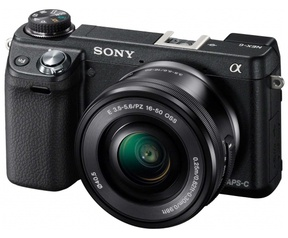 Sony NEX-6 + 16-50mm OSS f/3.5-5.6 Zwart