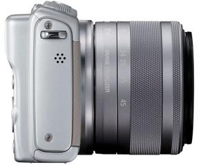 Canon EOS M100 + 15-45mm f/3.5-6.3 + Beschermhoes Grijs