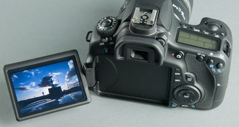 Canon EOS 60D articulated lcd