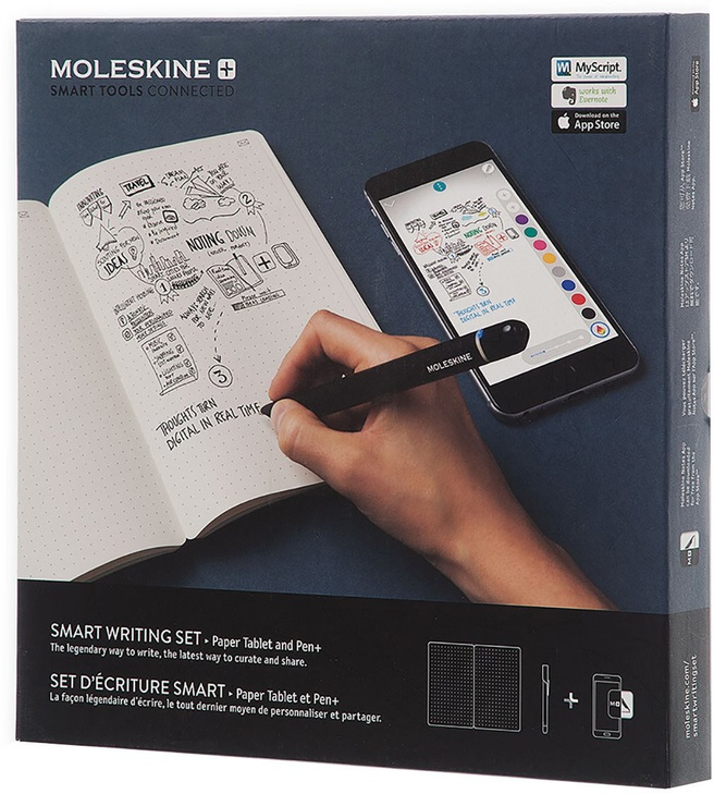 Moleskine  - Smart Writing Set- Intelligente Schrijfset (met de Paper tablet en de smart pen +)