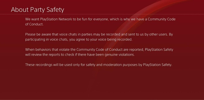 PlayStation Safety
