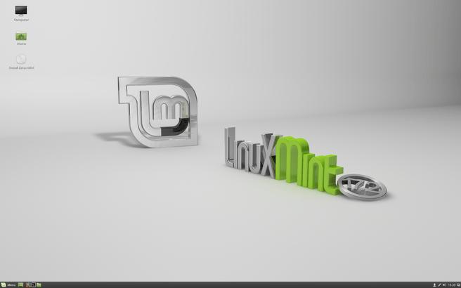 Linux Mint 17.2 met Cinnamon