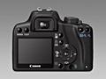 Canon 1000D - achterkant