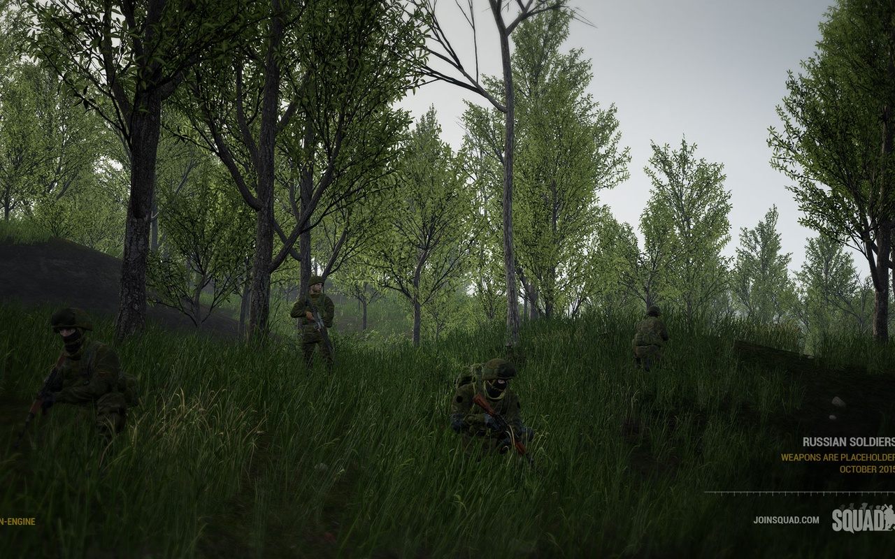 Squad op Steam Early Access
