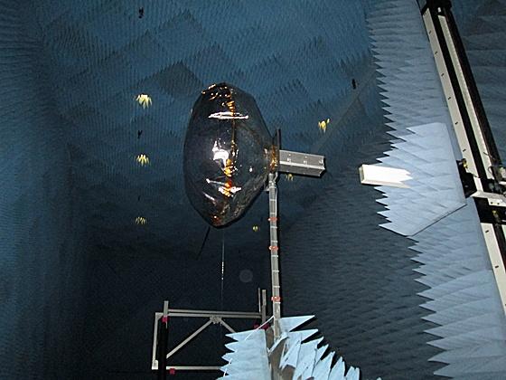 Opblaasbare antenne voor cubesats van MIT