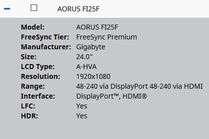 FI25F FreeSync
