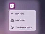 Microsoft OneNote november 2015