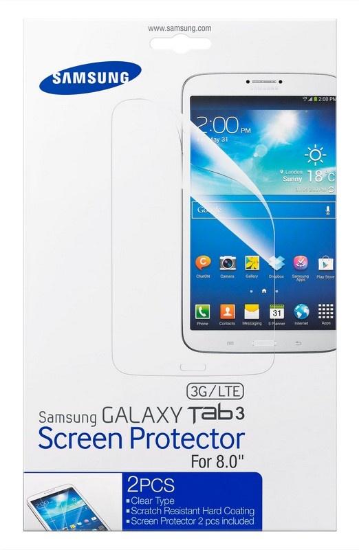 Samsung Screenprotector voor Galaxy Tab 3 8.0