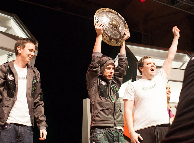 Alliance, de Dota 2-winnaars op The International