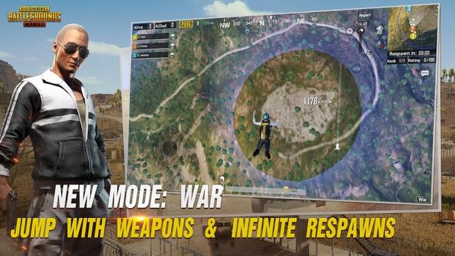 PUBG Mobile War Mode