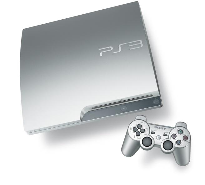 PlayStation 3 zilver
